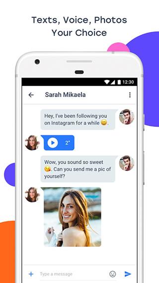 InMessage: Chat, Meet, Dating скриншот 3