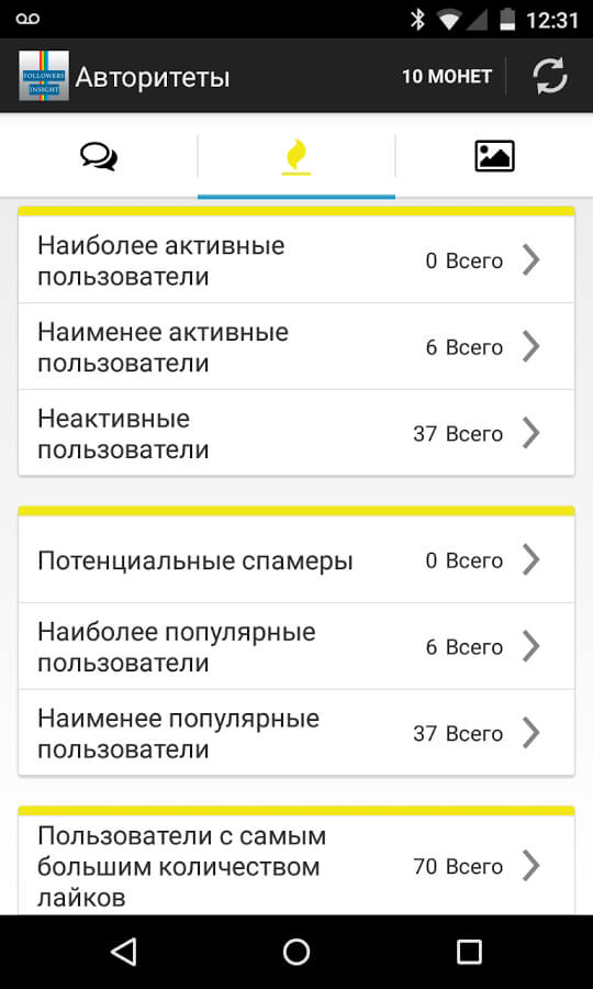 Followers Insight 2.5.4 for Android Browsers Android
