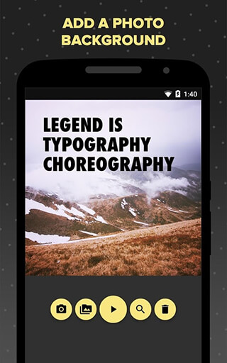Legend: Animate Text in Video скриншот 4
