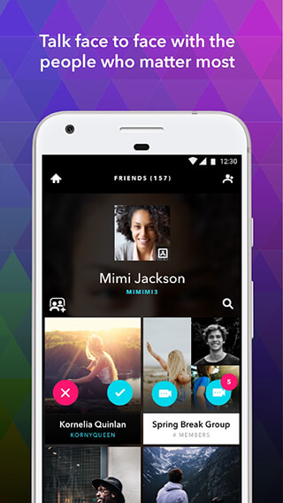ooVoo Video Calls, Messaging and Stories скриншот 3