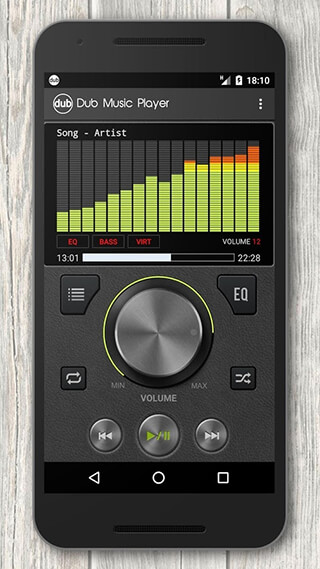Dub Music Player + Equalizer скриншот 1