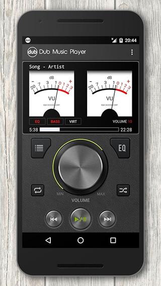 Dub Music Player + Equalizer скриншот 2