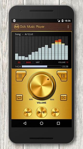 Dub Music Player + Equalizer скриншот 3