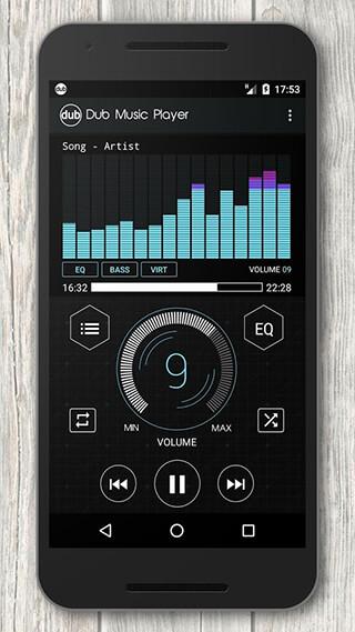 Dub Music Player + Equalizer скриншот 4