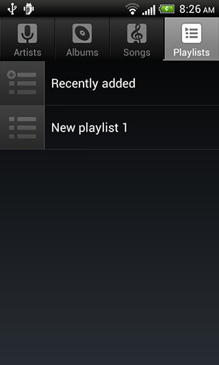 Default Music Player скриншот 3