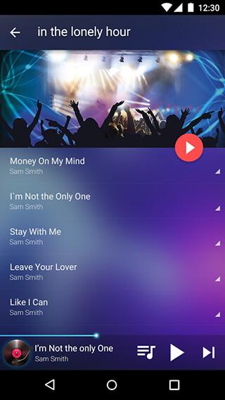 Music Player: Mp3 Player скриншот 3