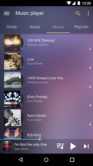 Music Player: Mp3 Player скриншот 4