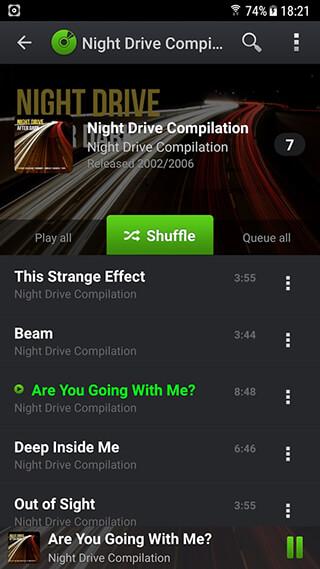 PlayerPro Music Player Trial скриншот 4