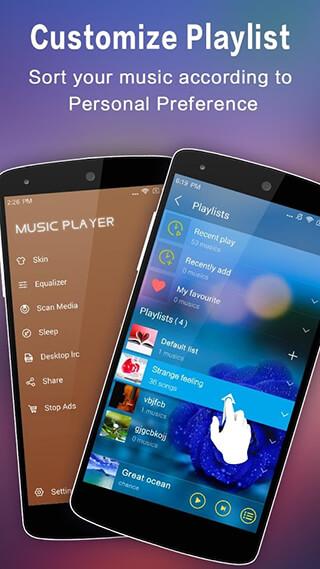 Music Player скриншот 3