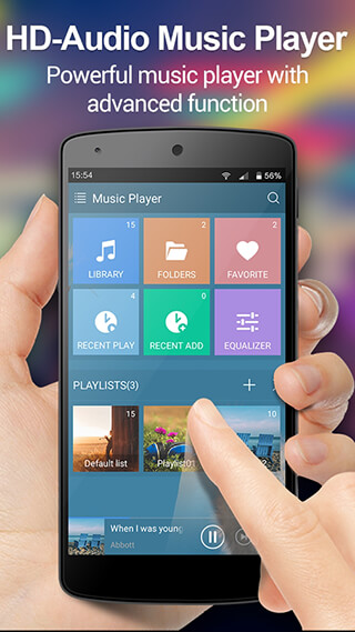 Music Player: Audio Player скриншот 1