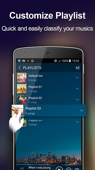 Music Player: Audio Player скриншот 4