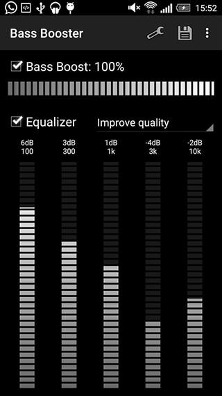 Bass Booster скриншот 1