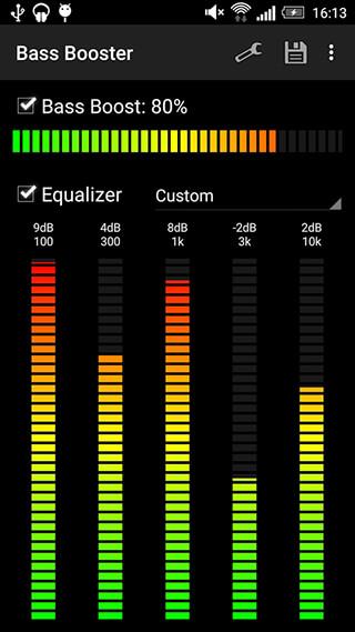 Bass Booster скриншот 2