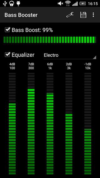 Bass Booster скриншот 4