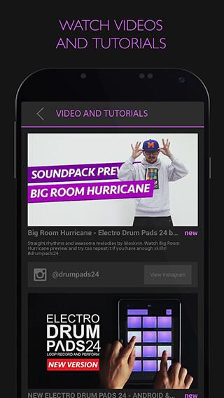 Electro Drum Pads 24 скриншот 4