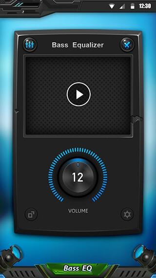 Equalizer and Bass Booster скриншот 1