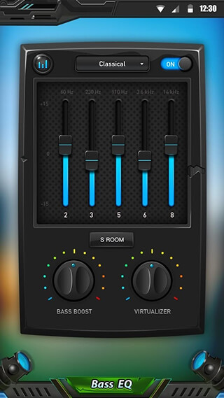 Equalizer and Bass Booster скриншот 2