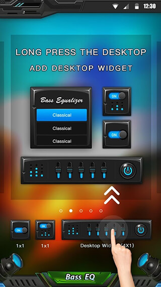 Equalizer and Bass Booster скриншот 4