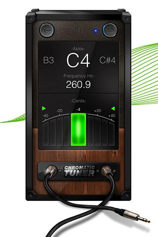 Chromatic Guitar Tuner Free: Ukulele, Bass, Violin скриншот 1