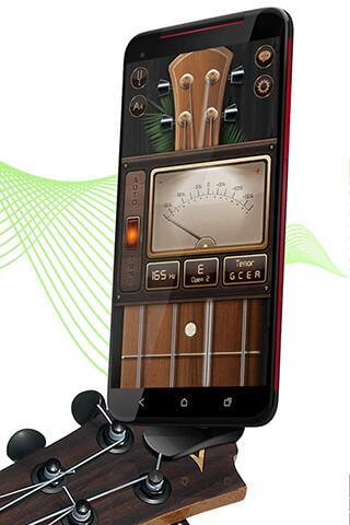 Chromatic Guitar Tuner Free: Ukulele, Bass, Violin скриншот 4