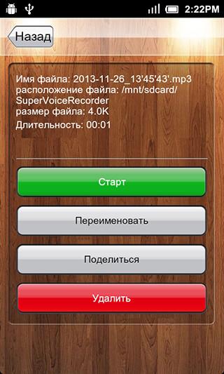 Voice Recorder скриншот 3