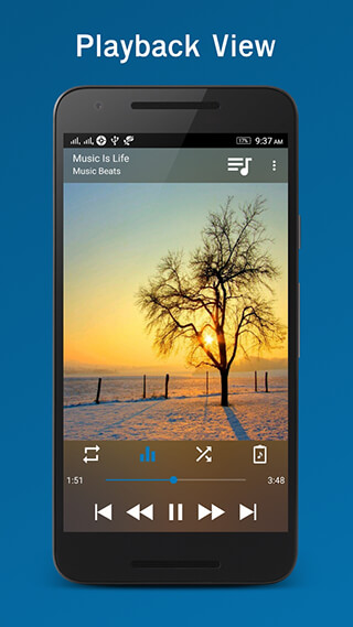 Laya Music Player скриншот 2