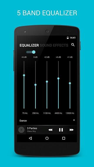 BlackPlayer Music Player скриншот 3