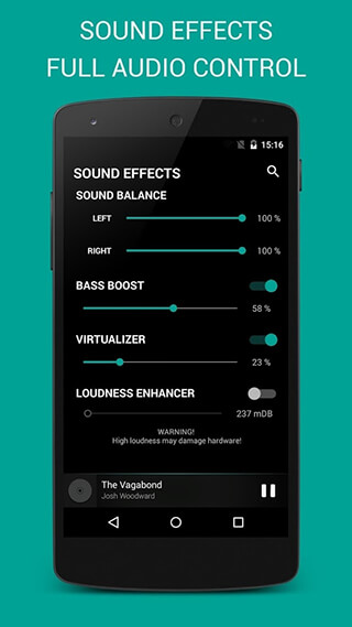 BlackPlayer Music Player скриншот 4