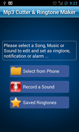 MP3 Cutter and Ringtone Maker скриншот 1