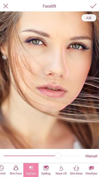 InstaBeauty: Makeup Selfie Cam скриншот 4