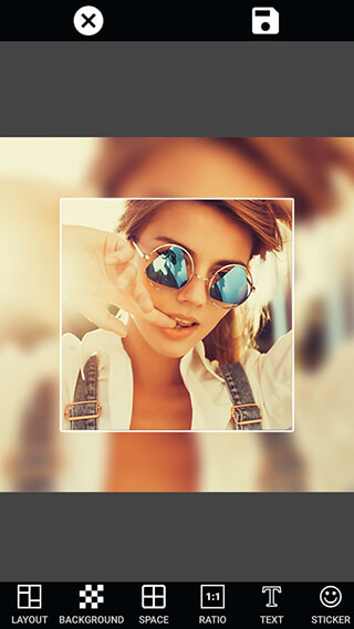 PIP Selfie Camera Photo Editor скриншот 1
