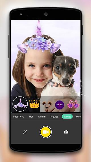 Face Camera: Snappy Photo скриншот 1