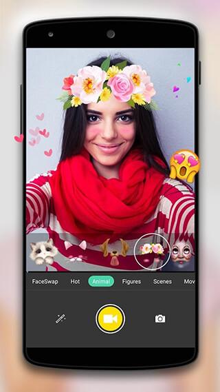 Face Camera: Snappy Photo скриншот 2