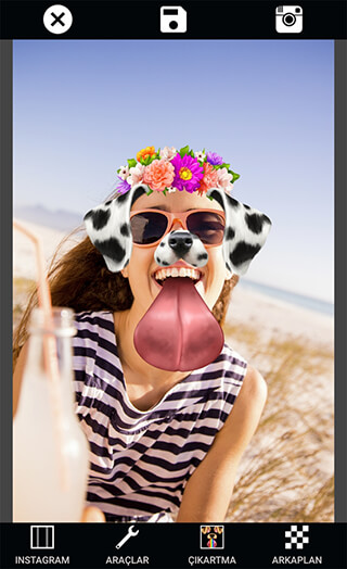 Selfie Camera: Photo Editor and Filter and Sticker скриншот 1