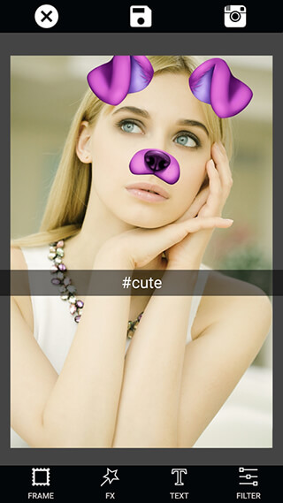 Selfie Camera: Photo Editor and Filter and Sticker скриншот 3