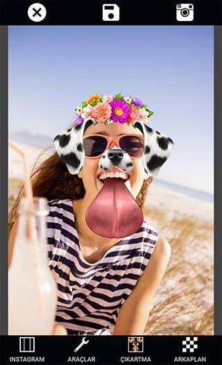 Photo Collage Editor Selfie Camera Filter Sticker скриншот 2