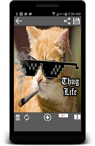 Thug Life Photo Maker Editor скриншот 1