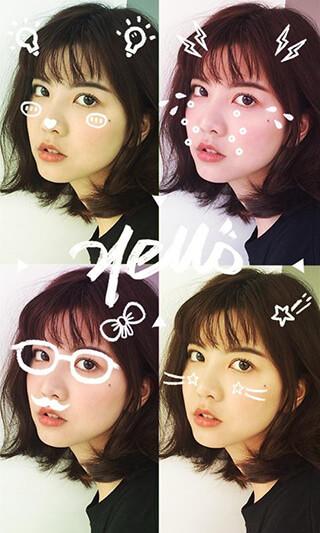 Meitu: Beauty Camera, Selfie Drawing and Photo Editor скриншот 4