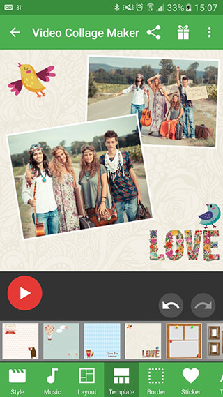 Video Collage Maker скриншот 1