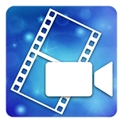 PowerDirector Video Editor App: 4K, Slow Mo and More иконка