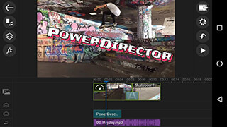 PowerDirector Video Editor App: 4K, Slow Mo and More скриншот 1