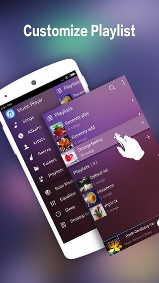 Music Player for Android-Audio скриншот 3