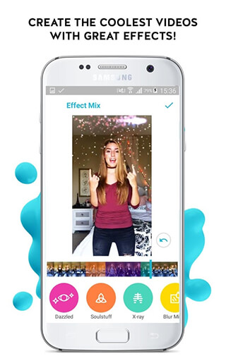 Funimate: Video Editor Effects and Music Video Maker скриншот 1