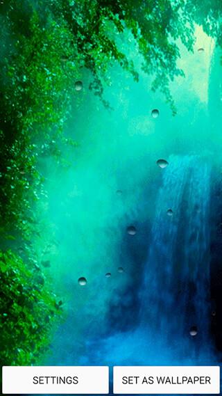 Waterfall Live Wallpaper скриншот 1