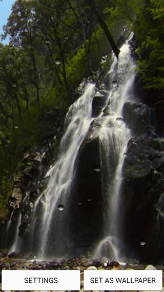 Waterfall Live Wallpaper скриншот 2