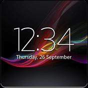 Digital Clock Widget Xperia иконка