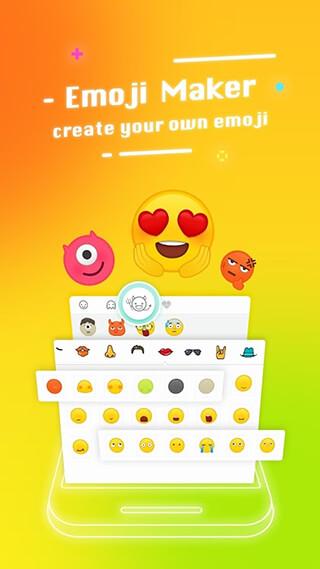 Typany Keyboard: DIY Themes, Emojis to Share скриншот 2