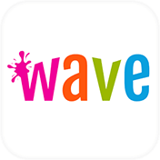 Wave Keyboard + Animated Themes, Emoji and GIFs иконка