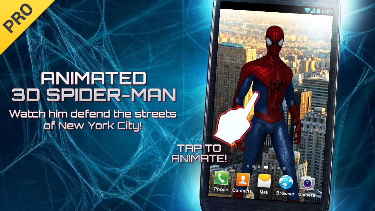 Amazing spider man 2 лаунчер скачать