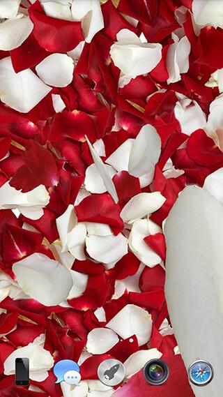 Petals 3D Live Wallpaper скриншот 1
